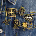 1 Set Fashion Enamel Pins Badge Fun Brooch Shirt Collar Breastpin Women Jewelry