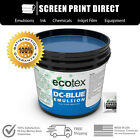 Ecotex DC-BLUE - Graphic Dual-Cure Screen Printing Emulsion - ALL SIZES