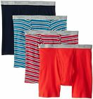 Fruit of the Loom Men&#039;s Boxer Briefs 4-Pack Sizes 2X 3X Assorted Colors <br/> 1st Quality! Choose Your Colors!