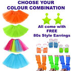 80s Tutu Costume Ideas, Hen Party Outfits, 80s Fancy Dress, Leg Warmers,Earrings