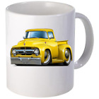 1956 Ford F100 Pickup Truck Coffee Mug 11oz 15 oz Ceramic NEW image