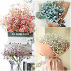 Artificial Fake Babys Breath Gypsophila Silk Flowers Bouquet Home Wedding Decor