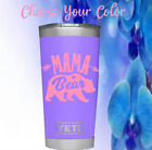 Monogram Vinyl Decal Sticker For Your ,tumblers, Cups  (mama Bear Design )