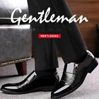 Men Flat Oxford Loafers Pointed Toe Shoes Leather Zipper Fashion Plus Size