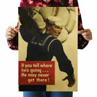 Retro Kraft Paper Poster Room Wall Decor Living Room Bedroom Nostalgic Playbill <br/> ✅High Quality ✅SOLD OUT 1800+ ! ✅BUY 2 , GET 1-15%
