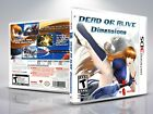 Replacement Nintendo 3DS Titles A-E Covers and Cases. NO GAMES!