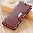 For Samsung Galaxy S10+ S10e, Luxury Flip Leather Wallet Card Slots Cover Case