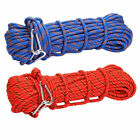 3KN Safety Professional Rock Climbing Rappelling Fire Rescue Auxiliary Rope 10mm