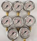 PRESSURE GAUGE STAUFF MADE IN GERMANY HYDRAULIC OIL WATER GAS PRESSURE WASHER