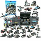 8IN1 Robot Aircraft Car City Police SWAT Bricks Compatible With Other Blocks