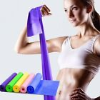 US Stretch Band Strap Wide Latex Portable Elastic Belt Yoga Training Accessories image