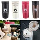 Stainless Steel Thermal Insulated Tea Coffee Mug Cup with Lid Car Water Bottle