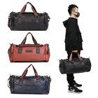 Kyпить Large Leather Men Handbag Duffel Bag Gym Travel Shoulder Bag Overnight Luggage на еВаy.соm
