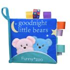 Baby Soft Books Animal Pattern Cloth Books Educational Cloth Book Cognition Toys