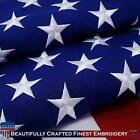 G128 – American Flag   2x3 feet   Heavy Duty Spun Polyester 220GSM – Embroidered