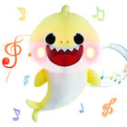 2019 Baby Shark Plush LED Singing Plush Toys Music Doll Sing English Song Toy