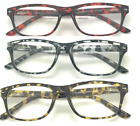 Readers for Women and Men Stylish Bifocal Reading Glasses with Spring Hinges New
