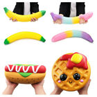 Super Jumbo Soft Squishy Hot Dog Cookie Bananas Slow Rising Squeeze Kid Gift Toy