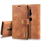 For Sony XZ1 XZ2 XZ3 X Compact Case Detachable Leather Wallet Card Holder Cover