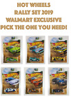 2019 Hot Wheels - Rally Sport Set,You Pick the car you need - Walmart Exclusive