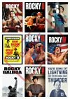 ROCKY POSTER PRINT COLLAGE WALL ART (r1) - VARIOUS SIZES / BOXING GYM WORKOUT