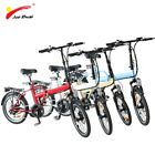 "20"" Folding Electric Bike Ebike 36V 250W Rear Hub Motor 36V 10ah Lithium"