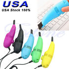 Vacuum USB Keyboard Cleaner Computer Laptop PC Brush Dust Cleaning Kit