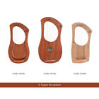 Lyre Harp 7 Strings Mahogany Solid Wood String Instrument with Carry Bag I0P6