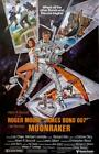 James Bond Poster//Vintage James Bond Movie Poster//Moonraker Movie Poster//Movi $19.99 USD on eBay
