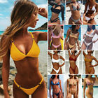 USA Women Sexy Bandage Bikini Set Push-Up Padded Swimwear Swimsuit Bathing suit $9.25 USD on eBay