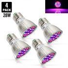 Hot Sale 28W LED Grow Light E27 Bulb for Garden Plant Hydroponic Full Spectrum