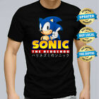 Sonic Men T-shirt Size Xs-5xl Computer Game Sonic The Hedgehog Tee