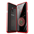 Double Sided Glass Magnetic Adsorption 360 Full Case Cover for iPhone & Samsung