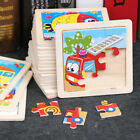 Development Baby Boy Girl 3D Wooden Puzzle Learning Educational Toy Animal Car
