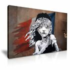Banksy Les Miserables Stretched Canvas ~ More Size