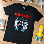 NEW rare - T shirt - Grusom  rock top gildan black - limmited edition - USA size
