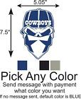 Dallas Cowboys Skull Logo Car/Truck Window DECAL Vinyl STICKER $5.0 USD on eBay