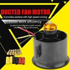 90mm Duct Fan 6 Blades with QF3530 1750KV Brushless Motor for RC Airplane Model