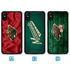 Minnesota Wild Phone Case For Apple iPhone X Xs Max Xr 8 7 Plus 6 6s $3.99 USD on eBay