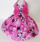 DOG DRESS /HARNESS WITH D RING    Minnie Mouse  pink  NEW   FREE SHIPPING