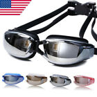 Внешний вид - Swimming Goggles Glasses Water Pool Anti Fog Underwater Mask Adult Men Women EN