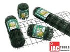 10m Rolls Green Border Fence Various Heights Garden Fencing Lawn Decoration F&f