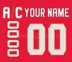 Florida Panthers Customized Number Kit for 2017-Present Red Jersey $44.99 USD on eBay
