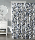 VCNY Home Paisley Chic Fabric Shower Curtain With Hooks - Assorted Colors
