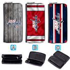Washington Capitals Leather Wallet Purse Zip Around Card Phone Holder $16.99 USD on eBay
