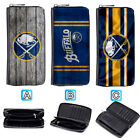 Buffalo Sabres Leather Wallet Purse Zip Around Card Phone Holder $15.99 USD on eBay