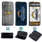 San Diego Chargers Leather Wallet Purse Zip Around Card Phone Holder $16.99 USD on eBay