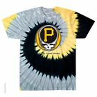 GRATEFUL DEAD-PITTSBURGH PIRATES-STEAL YOUR BASE-TIE DYE T SHIRT S-M-L-XL-XXL  image