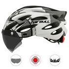 Cairbull Cycling Helmet With Removable Visor Goggles Bike MTB Road Helmets CB-26