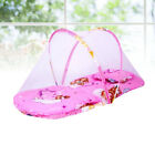 1PC Folding Baby Cute Baby Bed Cots Mosquito Net for Bed Anti-mosquito Net (Red)